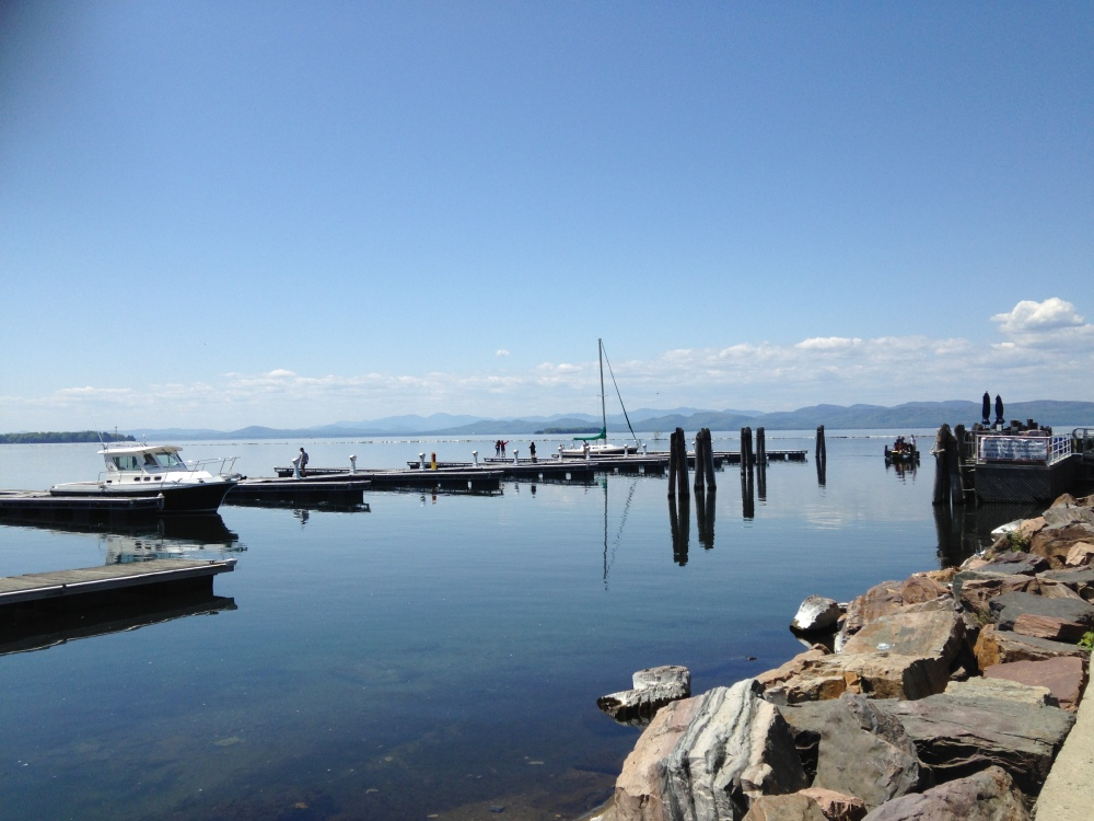 Lake Champlain in Vermont