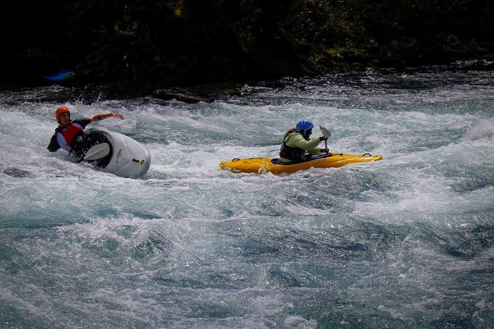 White Water Kayaking (yes I flipped)